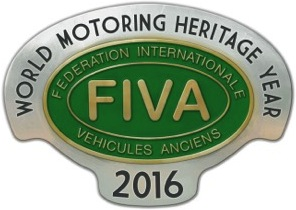 FIVA World Motoring Heritage Year 2016